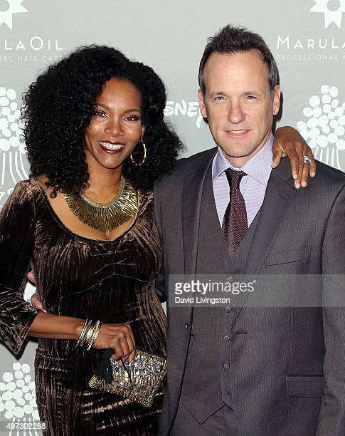Actor Tom Verica and wife Kira Arne attend the 2015 Baby2Baby Gala presented by MarulaOil Kayne Capital Advisors Foundation honoring Kerry Washington...