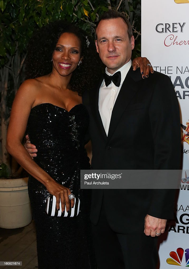 Actor Tom Verica (R) attends the The 44th NAACP Image Awards post show gala at the Millennium Biltmore Hotel on February 1, 2013 in Los Angeles, California.