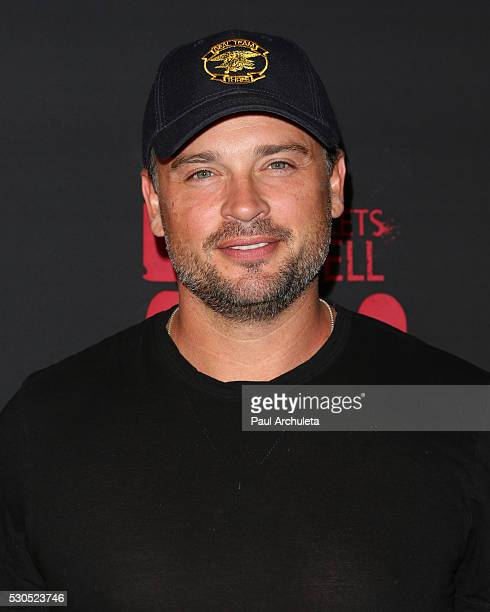 Actor Tom Welling attends the launch of '6 Bullets To Hell' the video game and the movie on May 10 2016 in Los Angeles California