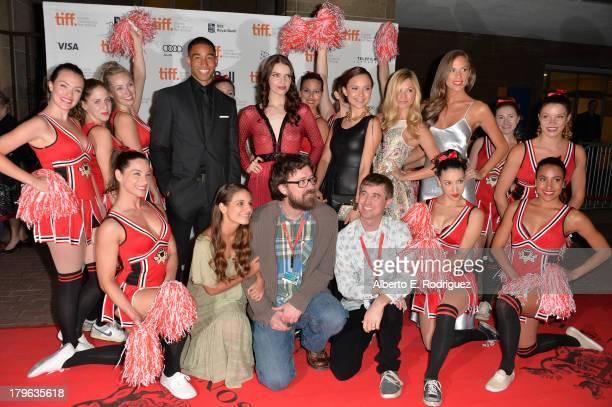 Actor Tom Williamson actresses Sianoa SmitMcPhee Amanda Grace Cooper Brooke Butler Reanin Johannink Caitlin Stasey Filmmakers Lucky McKee and Chris...