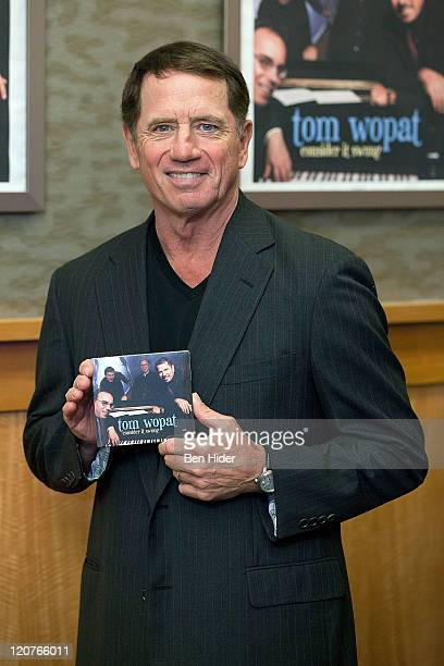 Actor Tom Womat promotes 'Consider It Swung' at Barnes Noble 86th Lexington on August 9 2011 in New York City