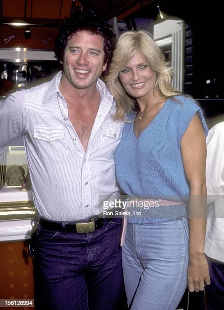 Actor Tom Wopat and Actress Randi Brooks attend the Bloomingdale's and Mrs Fields Present The City Fair to Benefit The Cystic Fibrosis Research...