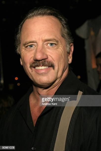 Actor Tom Wopat poses backstage during 'Broadway Under The Stars' in Bryant Park June 14 2004 in New York City