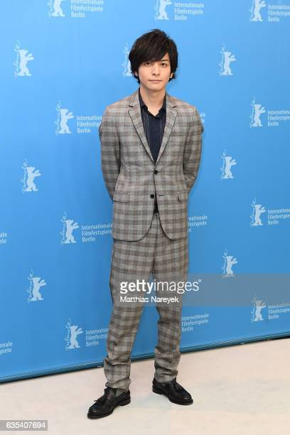 Actor Toma Ikuta attend the 'CloseKnit' photo call during the 67th Berlinale International Film Festival Berlin at Grand Hyatt Hotel on February 15...