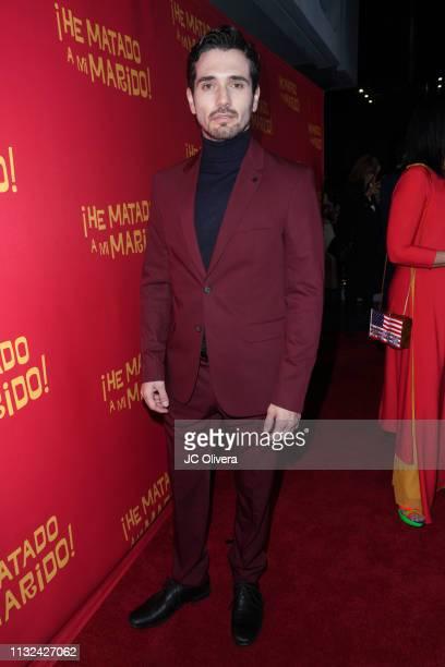 Actor Tomas Decurgez attends 'HE MATADO A MI MARIDO' Los Angeles Premiere at Harmony Gold Theatre on February 26 2019 in Los Angeles California