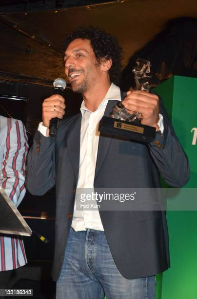 Actor Tomer Sisley attends the 'Take It Irish 2011' Cinema Awards Hosted by Jameson at Social Club on June 8 2011 in Paris France