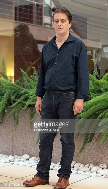 Actor Tommaso Ragno attends 'Io e Te' photocall at Visconti Palace Hotel on October 18 2012 in Rome Italy