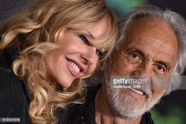Actor Tommy Chong and Shelby Chong arrive at the premiere of Walt Disney Animation Studios' 'Zootopia' at the El Capitan Theatre on February 17 2016...