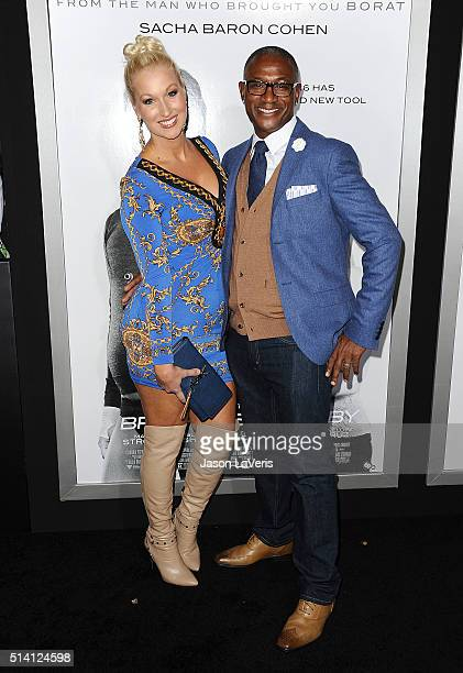 Actor Tommy Davidson and wife Arleen Davidson attend the premiere of The Brothers Grimsby at Regency Village Theatre on March 3 2016 in Westwood...