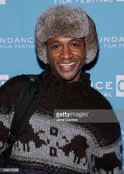 Actor Tommy Davidson attends the premiere of Black Dynamite during the 2009 Sundance Film Festival at Library Center Theatre on January 18 2009