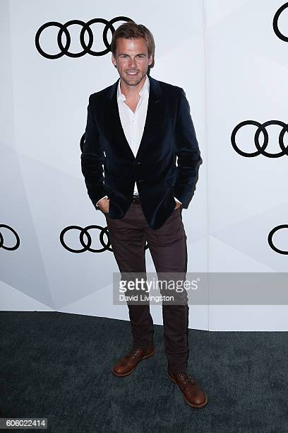Actor Tommy Dewey arrives at Audi Celebrates The 68th Emmys at Catch on September 15 2016 in West Hollywood California