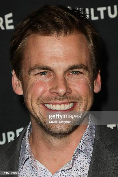 Actor Tommy Dewey arrives at the Vulture Awards Season Party at the Sunset Tower Hotel on December 8 2016 in West Hollywood California