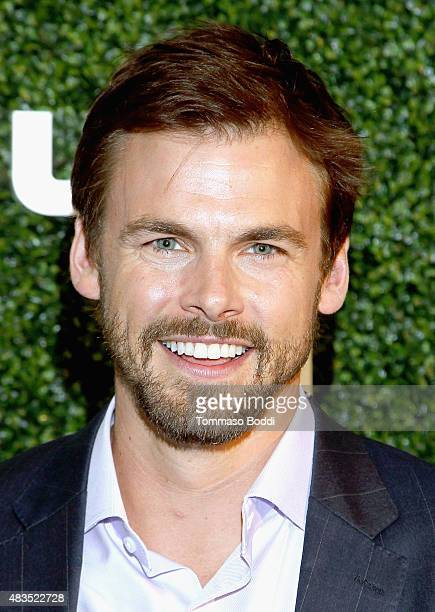 Actor Tommy Dewey attends the Hulu 2015 Summer TCA Presentation at The Beverly Hilton Hotel on August 9 2015 in Beverly Hills California
