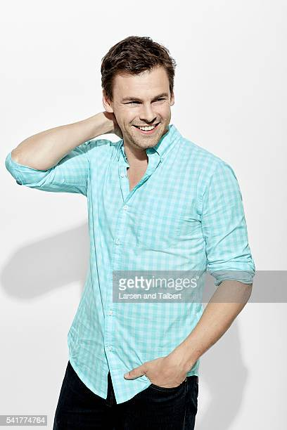 Actor Tommy Dewey of 'Casual' is photographed for Entertainment Weekly Magazine at the ATX Television Fesitval on June 10 2016 in Austin Texas