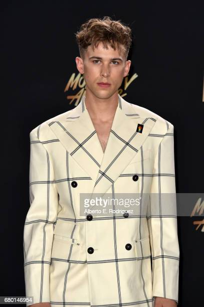 Actor Tommy Dorfman attends the 2017 MTV Movie And TV Awards at The Shrine Auditorium on May 7 2017 in Los Angeles California