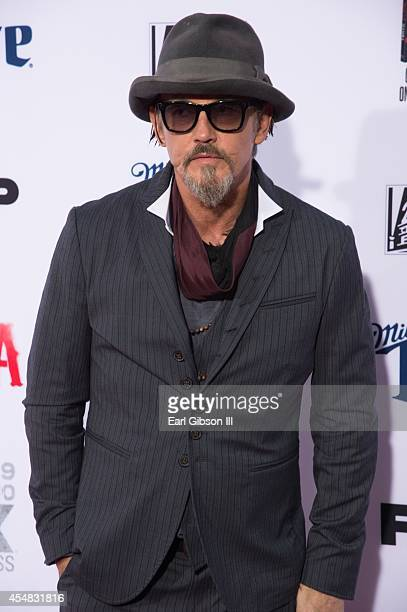 Actor Tommy Flanagan Flip 'Chibs' Telford attends FX's Son Of Anarchy Premeire at TCL Chinese Theatre on September 6 2014 in Hollywood California