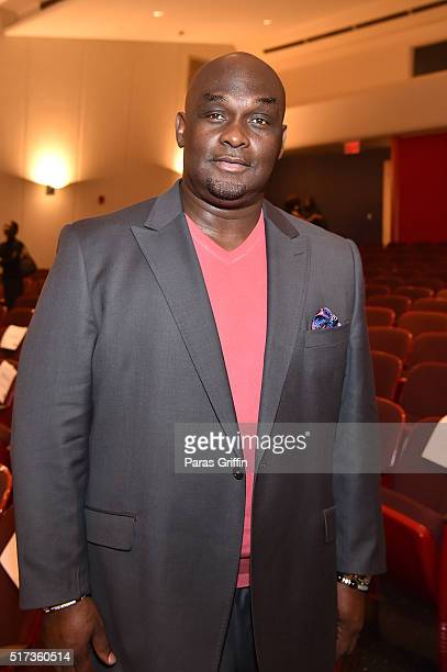 Actor Tommy Ford attends ASPiRE Premiere Screening of 'Magic in the Making' on March 24 2016 in Atlanta Georgia