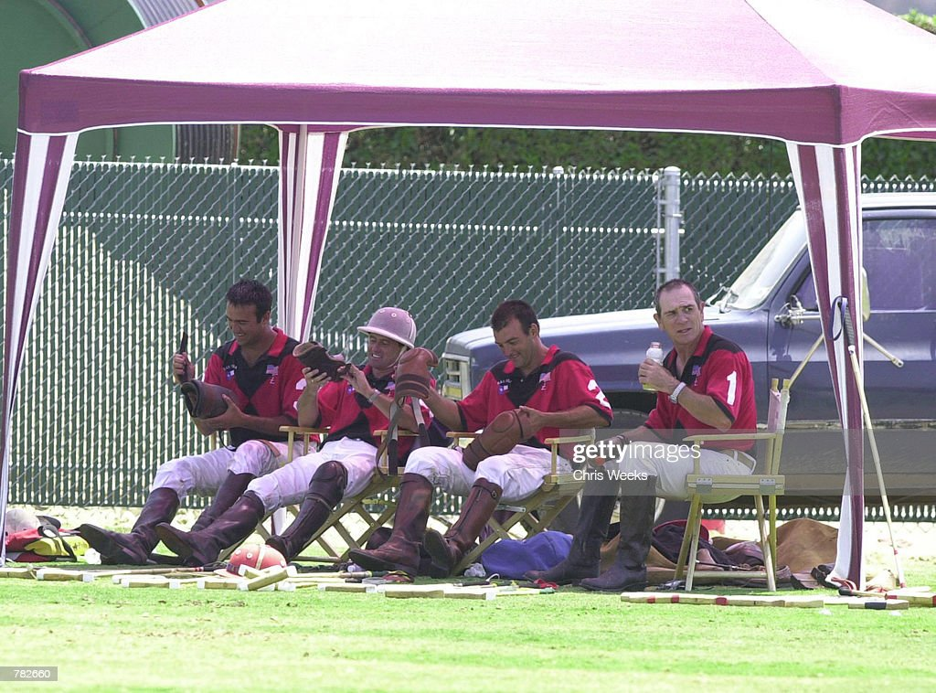 Tommy Lee Jones And The San Saba Polo Team Play In Santa Barbara : News Photo