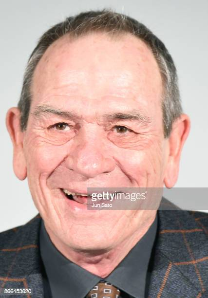 Actor Tommy Lee Jones attends an international Jury members press conference of the 30th Tokyo International Film Festival at Roppongi Hills on...