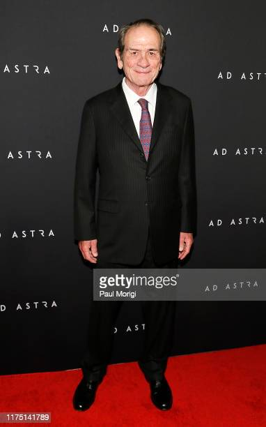 Actor Tommy Lee Jones attends the Ad Astra Washington DC screening at National Geographic Museum's Grosvenor Auditorium on September 16 2019 in...
