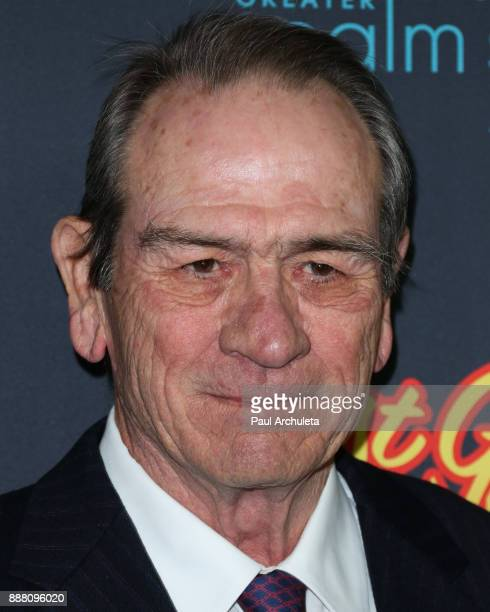 Actor Tommy Lee Jones attends the premiere of Just Getting Started at The ArcLight Hollywood on December 7 2017 in Hollywood California
