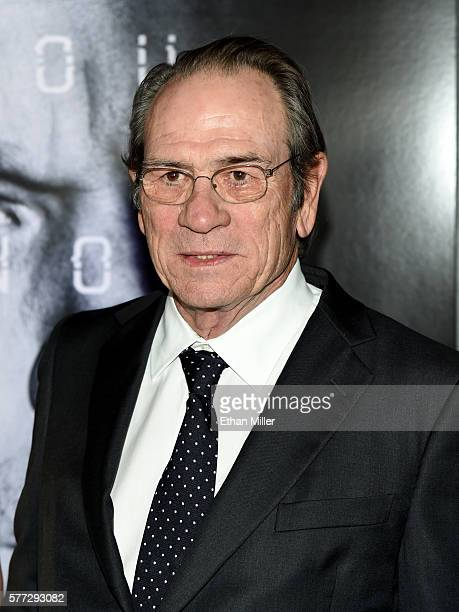 Actor Tommy Lee Jones attends the premiere of Universal Pictures' Jason Bourne at The Colosseum at Caesars Palaceon July 18 2016 in Las Vegas Nevada