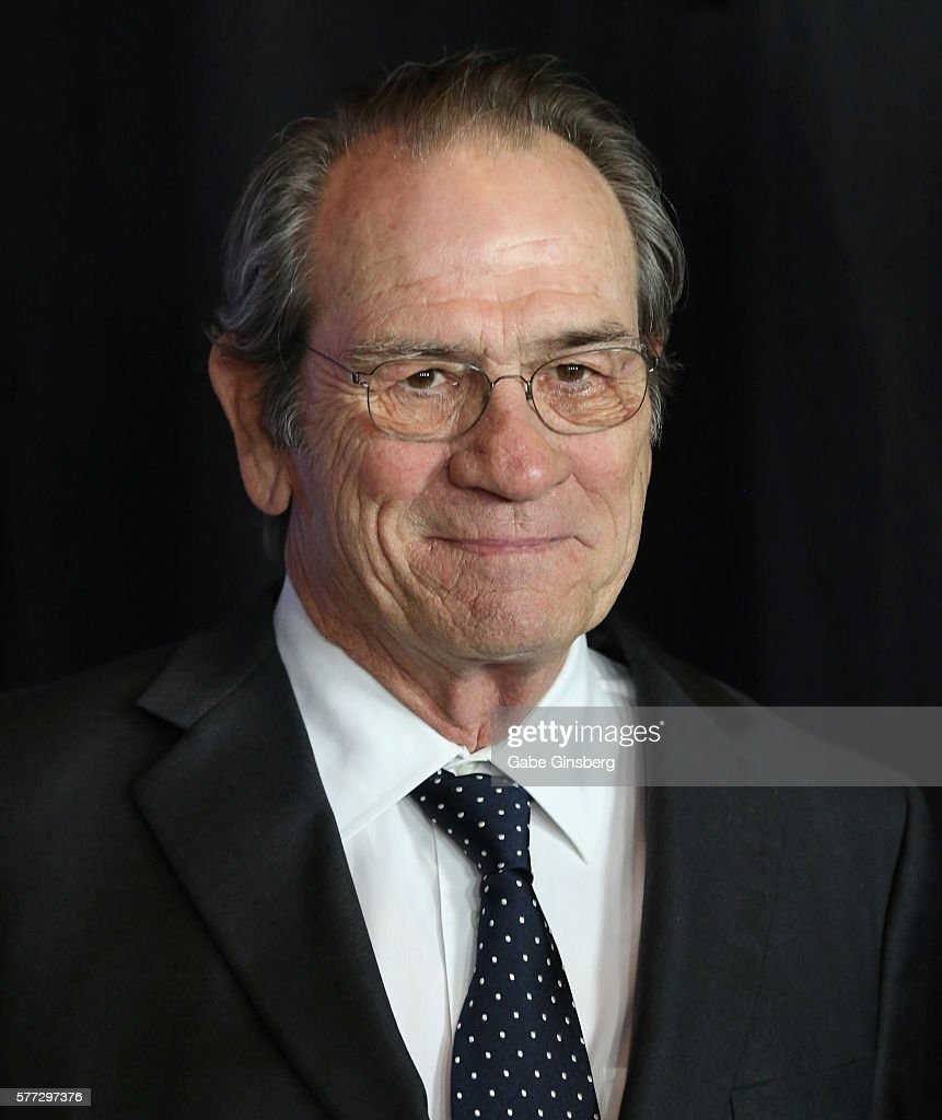 Actor Tommy Lee Jones attends the premiere of Universal Pictures' 'Jason Bourne' at The Colosseum at Caesars Palace on July 18, 2016 in Las Vegas, Nevada.