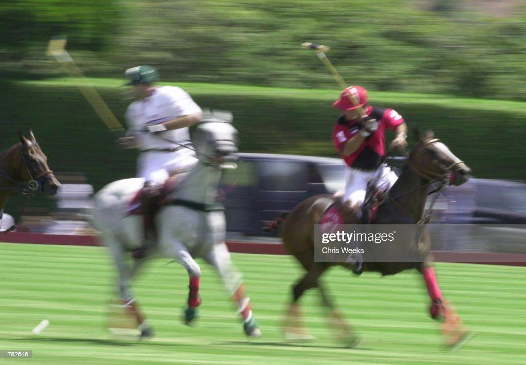 Tommy Lee Jones And The San Saba Polo Team Play In Santa Barbara : News Photo