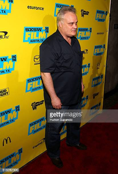 "Actor Tommy Nohilly attends the premiere of ""In the Valley of Violence"" during the 2016 SXSW Music, Film + Interactive Festival at Stateside Theater..."