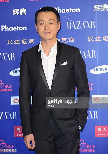 Actor Tong Dawei attends the 2013 Bazaar Stars Charity Night at China World Summit Wing on October 10 2013 in Beijing China
