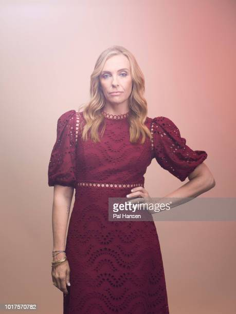 Actor Toni Collette is photographed for the Observer on May 31 2018 in London England