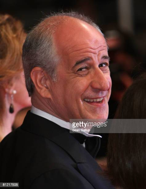 """Actor Toni Servillo arrives for the """"Il Divo"""" premiere at the Palais des Festivals during the 61st International Cannes Film Festival on May 23, 2008..."""