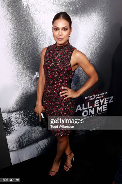 Actor Toni Trucks at the ALL EYEZ ON ME Premiere at Westwood Village Theatre on June 14 2017 in Westwood California