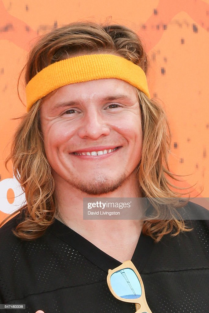 Actor Tony Cavalero arrives at the Nickelodeon Kids' Choice Sports Awards 2016 at the UCLA's Pauley Pavilion on July 14, 2016 in Westwood, California.
