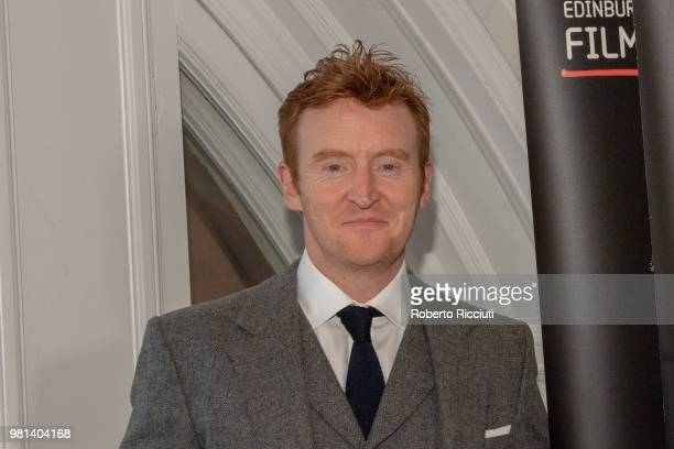 Actor Tony Curran attends a photocall for the World Premiere of 'Calibre' during the 72nd Edinburgh International Film Festival at The Caledonian on...