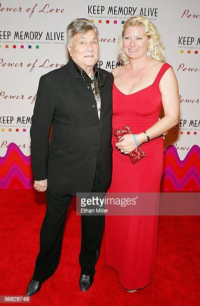 Actor Tony Curtis and his wife Jill Curtis arrive at the Keep Memory Alive Foundation's 10th annual gala to benefit the Lou Ruvo Alzheimer's...