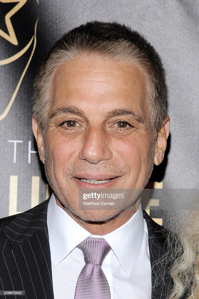 Actor Tony Danza arrives at the 31st Annual Lucille Lortel Awards at NYU Skirball Center on May 1, 2016 in New York City.
