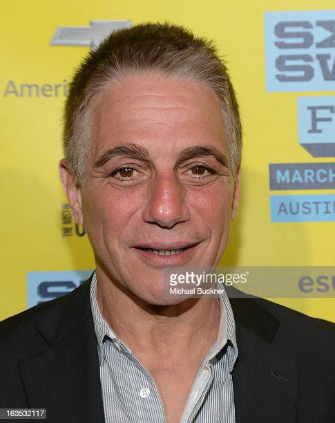 Actor Tony Danza arrives to the screening of Don Jon's Addiction during the 2013 SXSW Music Film Interactive Festival at the Paramount Theatre on...