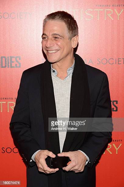 Actor Tony Danza attends a screening of Warm Bodies hosted by The Cinema Society at Landmark's Sunshine Cinema on January 25 2013 in New York City