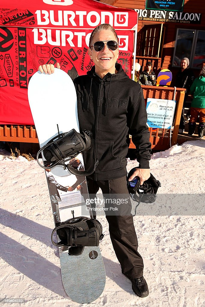 Actor Tony Danza attends Burton Learn To Ride - Day 2 on January 20, 2013 in Park City, Utah.