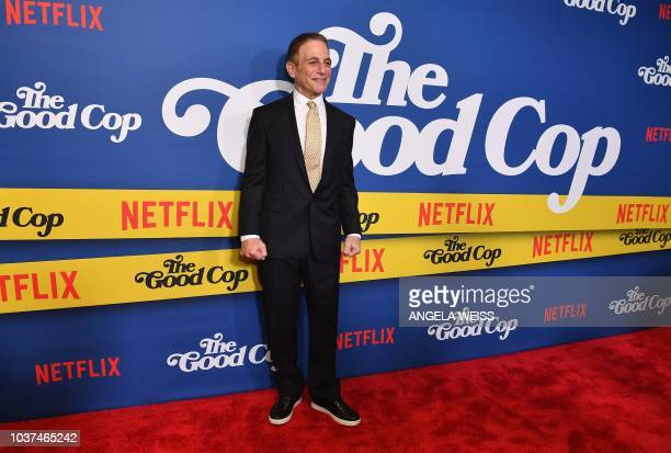 US actor Tony Danza attends Netflix's The Good Cop Season 1 premiere event at AMC 34th Street in New York City on September 21 2018