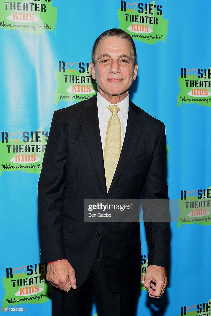 Actor Tony Danza attends the 13th Annual Rosie's Theater Kids Gala at New York Marriott Marquis Hotel on September 28, 2016 in New York City.