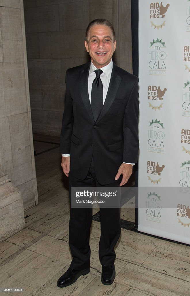 Actor Tony Danza attends the 2015 Aid For AIDS Gala at Cipriani Downtown on November 4, 2015 in New York City.