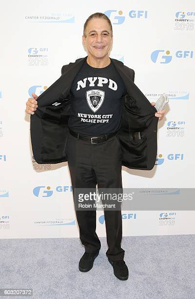Actor Tony Danza attends the Annual Charity Day hosted by Cantor Fitzgerald BGC and GFI at GFI Securities on September 12 2016 in New York City