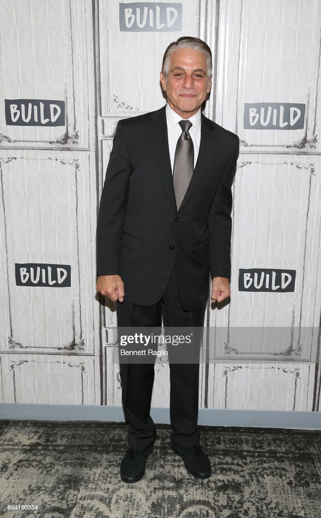 Actor Tony Danza attends the Build Series at Build Studio on March 16, 2017 in New York City.