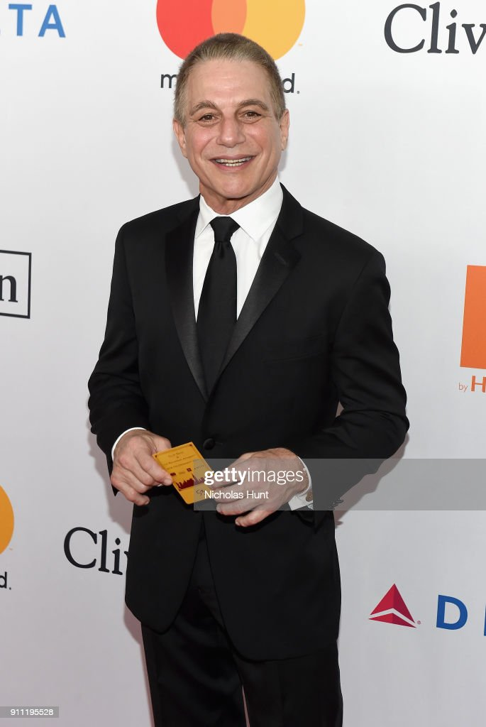 Actor Tony Danza attends the Clive Davis and Recording Academy Pre-GRAMMY Gala and GRAMMY Salute to Industry Icons Honoring Jay-Z on January 27, 2018 in New York City.