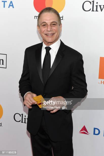 Actor Tony Danza attends the Clive Davis and Recording Academy PreGRAMMY Gala and GRAMMY Salute to Industry Icons Honoring JayZ on January 27 2018 in...