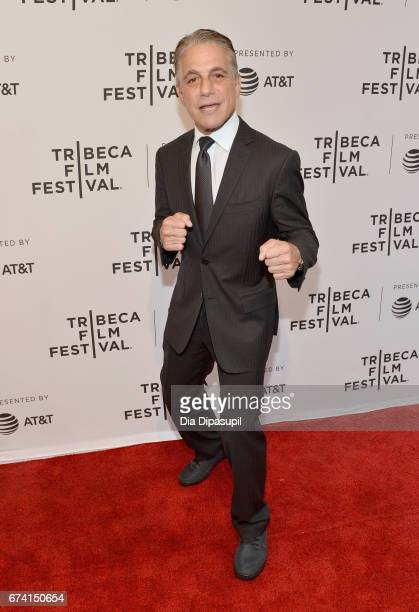 Actor Tony Danza attends the There's Johnny Premiere during the 2017 Tribeca Film Festival at SVA Theater on April 27 2017 in New York City