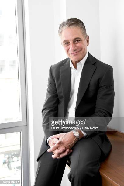 Actor Tony Danza photographed for NY Daily News on April 28 in New York City