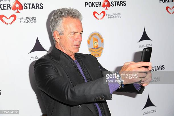 Actor Tony Denison arrive at the Los Angeles Police Memorial Foundation Celebrity Poker Tournament Party Arrivals at Avalon Hollywood on November 19...